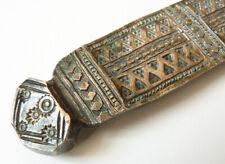 Très ancien Bracelet ethnique en bronze origine inconnue