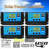 2x30-60A MPPT Solar Panel Regulator Charge Controller Auto Focus Tracking 12-24V