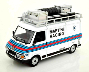 IXO 1/18 FIAT 242 LANCIA/MARTINI RACING RALLY TEAM  ASSISTANCE/SUPPORT VAN 1983