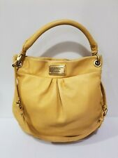 Marc By Marc Jacobs Classic Q Hobo Hillier Bag Leather - Yellow