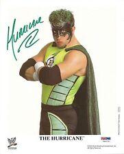 The Hurricane Gregory Shane Helms Signed WWE 8x10 Photo PSA/DNA COA Promo Auto'd