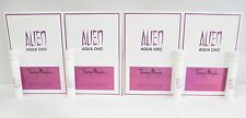 Alien Aqua Chic by Thierry Mugler Women 1.2 ml .04 oz Spray Sample x 4pcs