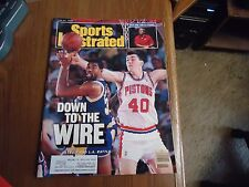 Sports Illustrated 1988 Magic Johnson/ Bill Laimbeer Cover/ Golf's U.S. Open