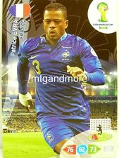 Adrenalyn XL - Patrice Evra - Frankreich - Fifa World Cup Brazil 2014 WM