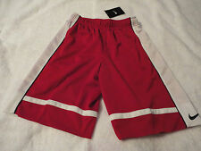 NIKE BOY'S NEW RED ATHLETIC SHORTS SIZE SMALL