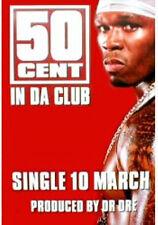 Poster  50 CENT - In Da Club - Promo NEU 13550