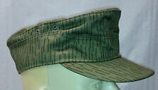 M41 Hat   DDR East German   Strichtarn Raindrop  Camouflage  - Made in Germany -