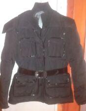 Cappotto donna nero, effetto nero brillantini, bellissimo,caldo