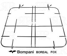 Bompani Boreal Fox Griglia 4 Fuochi Cucina a Gas Acciaio cm.42 X 35