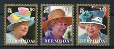 Bermuda 2017 MNH QEII Queen Elizabeth II Longest Reign 3v Set Royalty Stamps