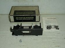 Old Vintage Manon autochanger for cabin slide projector original box manual