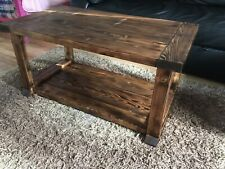 Rustic Coffee Table Hand Made
