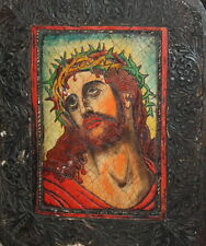 JESUS CHRIST HAND MADE RELIEF ICON