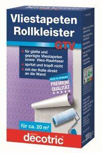 200g Instant Rollkleister original Roll-Kleister GTV für Vliestapeten