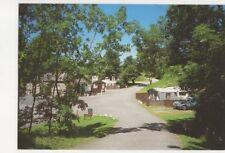 Lower Wensleydale Caravan Club Site Leyburn Postcard 432a