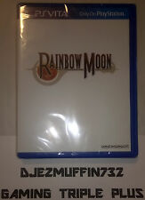 RAINBOW MOON (PLAYSTATION VITA, PSV) LIMITED (ONLY 3000 MADE)