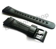 Replacement Watch Strap Band for Casio G Shock Mens Rubber G2900 + Black Buckle