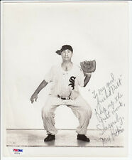 MAX PATKIN MLB Chicago White Sox Autographed Photo PSA/DNA Certified - B4241 C3