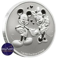 NIUE 2020 - 2$ (dollars) NZD - Mickey et Minnie™ - 1oz argent 99,9‰ - Disney™