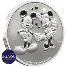 NIUE 2020 - 2$ (dollars) NZD - Mickey et Minnie™ - 1oz argent 99,9‰ - Disney™