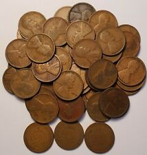 New listing Full Roll (50) 1912 P Lincoln Wheat Cents