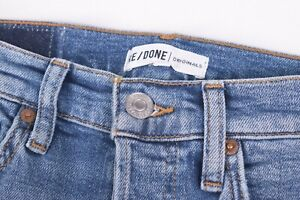 Levi's Re/Done Originals NWT Blue Jeans Size 26W High Rise Ankle Crop