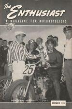 1953 December - The Enthusiast - Vintage Harley-Davidson Motorcycle Magazine