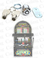 Drop In Replacement Lock and Key Kit for IGT S2000 Slot Machine