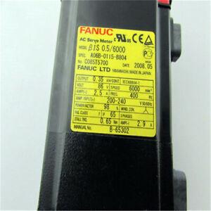 100% New Fanuc ELECTRIC SERVO MOTOR A06B-0115-B804 In Good Condition