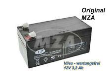 Simson AGM-Batterie - Vlies - wartungsfrei - 12V 3,2 Ah - MOPED MOKICK - TOP NEU