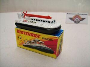 Matchbox Superfast, Nr.72, Hovercraft SRN 6, weiß/schwarz, 1972, (England)