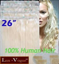 "26"" 40pcs 100% Human Hair 3M Tape-in Extensions Remy #613"