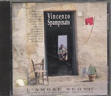 """VINCENZO SPAMPINATO ( L. DALLA  F.BATTIATO ) -RARO CD 1992 """" L'AMORE NUOVO """""""