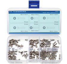 M2.5 Tamper-Resistant Security Screws Pin-In-Torx Flat Head Assortment Kit