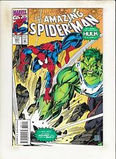 Amazing Spiderman #381 The Incredible Hulk Is In Town! Trying To Squash Spidey!