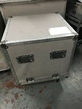 "19"" Rack Mount Sleeved Flightcase 9u 3 X 3u"