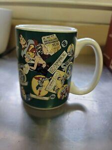 vintage superman coffee mug