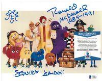 Squire Fridell Signed 8x10 Photo Ronald McDonald McDonalds Beckett