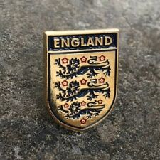ENGLAND FOOTBALL ENAMEL PIN BADGE | THREE LIONS FA | NATIONS LEAGUE WORLD CUP
