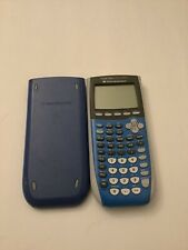 Texas Instruments Ti-84 Plus C Silver Edition Graphing Calculator Blue