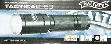 Walther Tactical 250 Hi-Power LED Flashlight linterna baterías m. 250 lumen