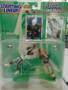 1997 NFL Starting Lineup Classic Doubles Tim Brown & Fred Biletnikoff Raiders