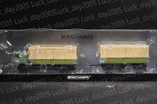 """Minichamps Buessing Lu 11/16 Pritschenzug """"SCHENKER"""" 1/43 Limited 504pc"""