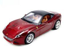 2014 Ferrari California T Closed Top Rojo Cereza Bburago 16902