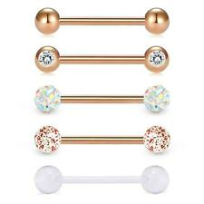 2,5mm herradura anillo con encajes circular barbell oreja pecho Intim piercing