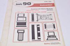Bailey infi 90 Instruction Manual - E96-306