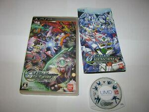Gundam Memories Tatakai no Kioku Playstation Portable PSP Japan import US Seller