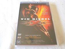 XXX - Collector's Edition (DVD, 2003) Region 4 Vin Diesel