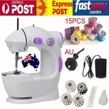 New Electric Multi-function Portable Mini Desktop Sewing Machine Handheld Kit AU