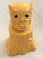 "Avon 3"" Potpourri Fragrance Mini Pomander Owl Bird Figurine"